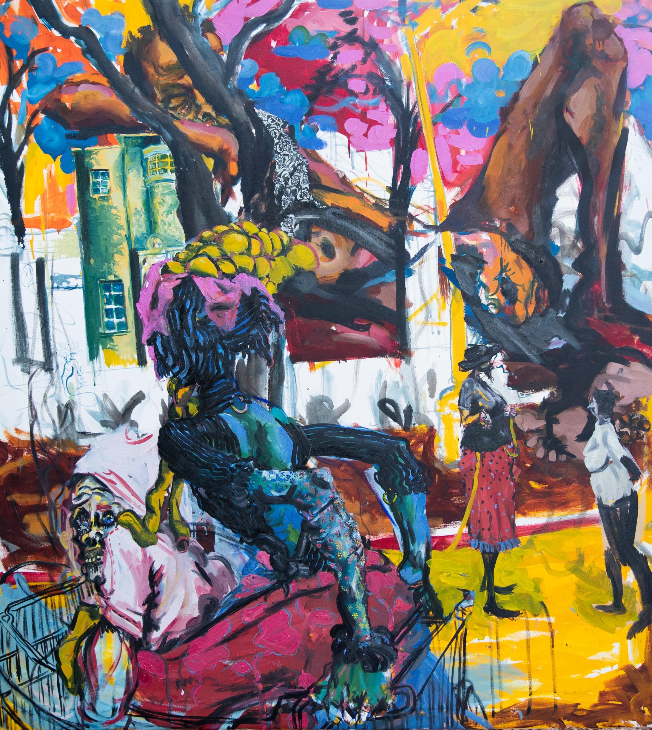Epheas Maposa (Zimbabwe), 'Untitled'